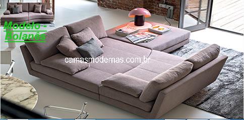 Sofas grandes cl ssicos e modernos for Fabrica de sofa cama